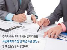은행대출,투자유치,기보/신보,정책자금 사업계획서 작성 해드립니다.