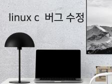 linix c 계열   버그수정 해드립니다.