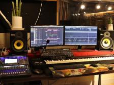 [신사역 인근에 위치한 스튜디오] 레코딩, 음악편집, 믹싱&마스터링, 작곡&편곡해드립니다.