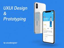 [UI/UX] 모바일앱 & 프로토타이핑(앱 구동영상) 제작해드립니다.