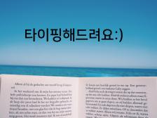 한글/영어 단순 타이핑 해드립니다.