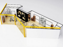 3D 투시도 , 인테리어 디자인, 컨셉이미지, 매뉴얼디자인을드립니다.