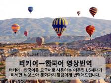 한국사람보다 한국말 더 잘하는 터키인이 무엇이든 깔끔하게!! 번역해드립니다.