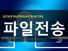 솔루션 기반 SFTP/ FTP 서버 구축 지원해드립니다.