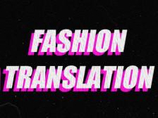 패션관련 영문번역해드립니다.