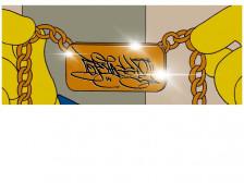 힙합스타일 유니크 그래피티 스타일 캘리 그래피드립니다.