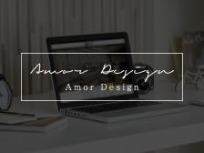 [아모르디자인]홈페이지형 블로그 스킨 디자인을 이벤트 가격으로 제작해드립니다.