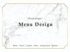 [빠른작업] 깔끔하고 세련된 외식/카페/네일/뷰티실 메뉴판 디자인을 해드립니다.