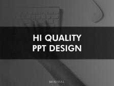 [HIGH QUALITY] 회사소개서/투자제안서/포트폴리오 고퀄리티 PPT 디자인을 해드립니다.