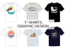 티셔츠 그래픽, 일러스트 작업 해드립니다.