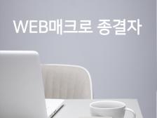 Web 매크로 만들어드립니다.