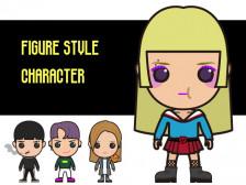 [피규어 스타일] 개성 있는 일러스트 캐릭터를 그려드립니다.