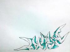 스트릿 아트, 구매자의 이름을 그래피티로 그려드립니다.