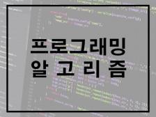 프로그래밍 / 알고리즘 문제 해결해드립니다.
