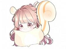 방송/유튜브/귀여운캐릭터/외주/커미션/트위치/대기화면/도네이션/귀여운 다람쥐 일러 그려드립니다.