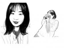 [디지털 그림] 선물, 프로필 하기 좋은 느낌있는 스케치 초상화, 인물화를 그려드립니다.