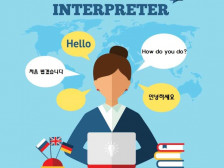 한국어-영어 동시(순차)통역 해드립니다.