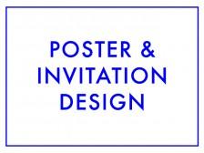 포스터, 초대장, 청첩장을 디자인해드립니다.
