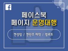 마케팅에 최적화된 페이스북 페이지 운영대행해드립니다.