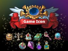 게임 아이콘/UI 제작 해드립니다.
