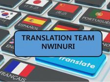 번역팀 뉘누리에서 영한/한영 번역, 논문 초록 번역해해드립니다.