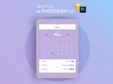 SKECH or PHOTOSHOP 으로 UI 디자인 해드립니다.