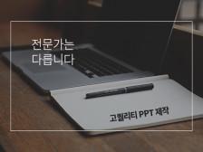 [전문가는 다릅니다] 당신의 IDENTITY를 설득시켜라! 고퀄리티 PPT 제작해 드립드립니다.