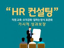 직원 교육/조직 강화/일하는 방식 표준화/ 가시적 성과 보장 HR 컨설팅 해드립니다.