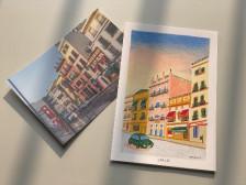 나의 여행을 색연필 엽서로 만드는 원데이클래스드립니다.
