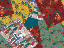 감각적이고 다채로운 컬러의 패턴 디자인 해드립니다.