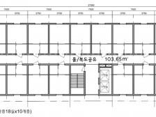 CAD도면작업 [건축계획/도면작업] (캐드,스케치업,레빗)드립니다.