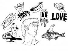 감각적인 일러스트/로고/스티커 등을 베를린에서 그려드립니다.