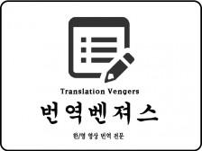[영상 번역] 유튜브 및 영상 한/영 신속하고 정확한 번역해드립니다.