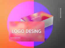 브랜드 로고를 제작 해드립니다.