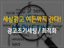 검색광고 초기세팅 / 문제점분석 / 최적화작업 해드립니다.