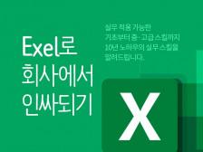 Excel 필수 학습 + 피벗 + Dashboard 제작 레슨을 해드립니다.