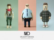 제품 및 아트토이 & SD캐릭터 & 피규어 모델링 렌더링 빠른 속도로 작업해드립니다.