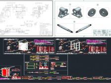 기계 & 기구설계 2D / 3D 도면작업 해드립니다.