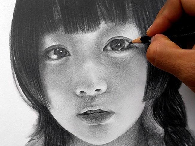 인물화, 초상화를 정성껏 그려 드립니다.
