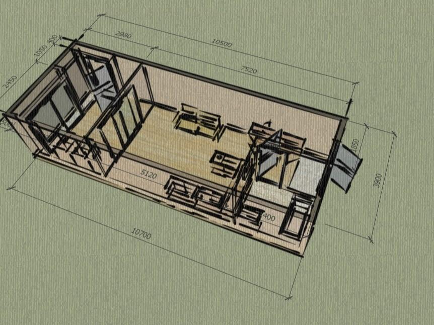 빠르게 스케치업 3D 모델링 해 드립니다.