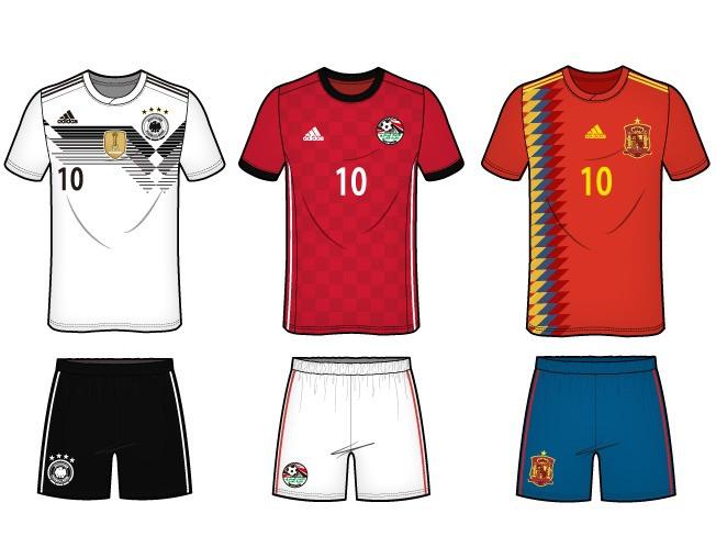 스포츠 의류 / 유니폼 일러스트 도식화 디자인 작업해 드립니다