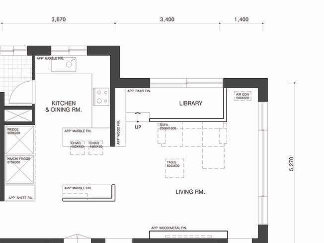 건축·인테리어 관련 도면 작성 / 공간 디자인 / 3D 해 드립니다