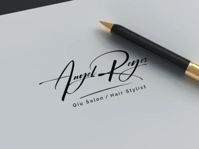손으로 그린 유니크한 시그니처 로고 디자인을 드립니다.