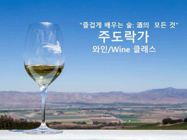 와인 대회 우승 경력의 전문가와 함께 하는 와인 클래스 (원데이) 드립니다
